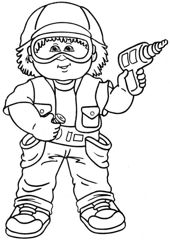 Cabbage clipart coloring 5 on Cabbage Kids Party