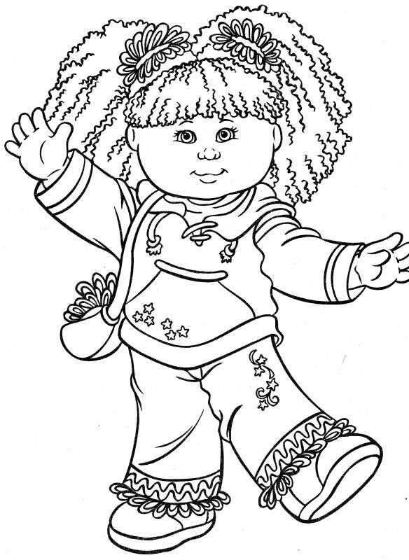 Cabbage clipart coloring Cabbage  Patch Clip ·