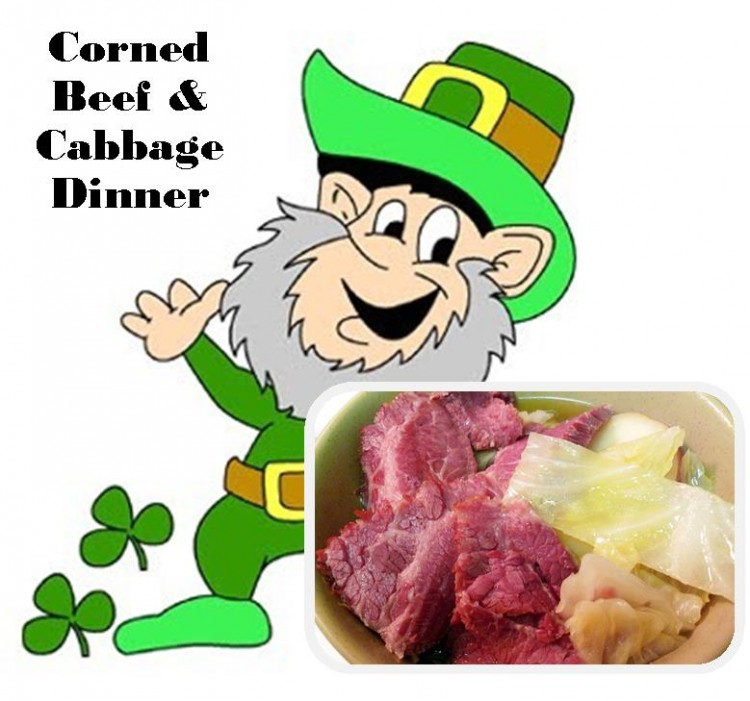 Cabbage clipart corn beef cabbage Corned Andrew's Episcopal St Dinner