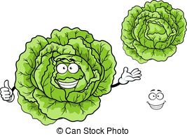 Cabbage clipart happy 7 Happy Cabbage Illustrations Stock
