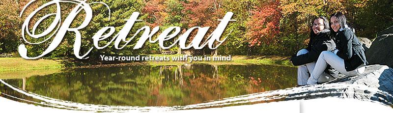Cabin clipart spiritual retreat Year  retreats round mind