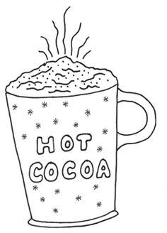 Hot Chocolate clipart hot and cold #13