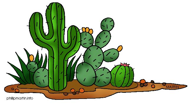 In The Desert clipart cute Free art Cactus 56 Cliparting