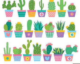 Cactus clipart Clipart Cactus Cactus clipart Etsy