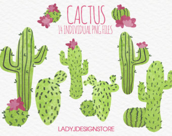 Original clipart art Watercolor invitations Clip Plants for