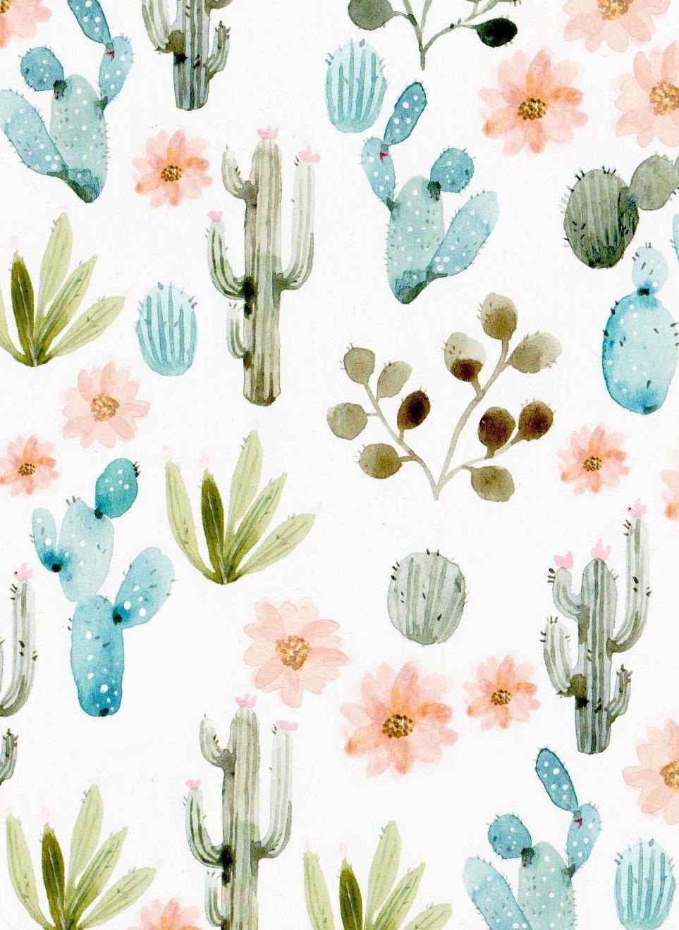 Background clipart cactus #9