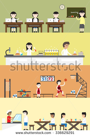 Cafeteria clipart lunch menu Language such laboratory as building