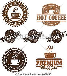 Cafeteria clipart espresso (411×470) photo_csp6909462 cafe Clip stock