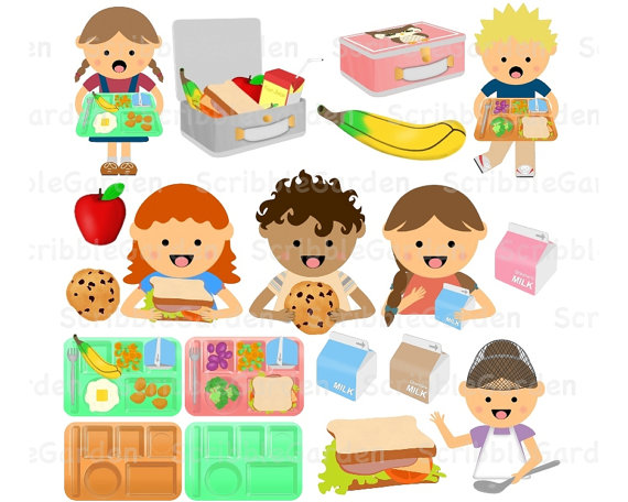 Child clipart lunch time Clipart ~ Healthy Clipart Healthy