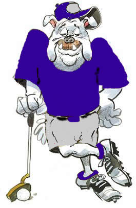 Cafeteria clipart tindera Weekly Bulldog_Animated_Golfer 2014 Olmsted Schools