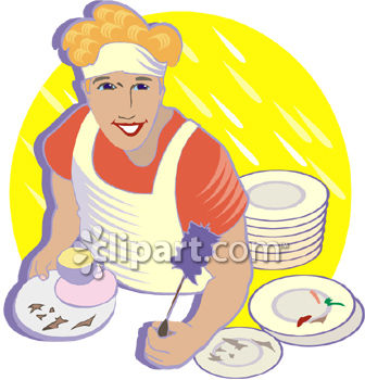 Cafeteria clipart tindera Image Restaurant Washer Royalty Clipart