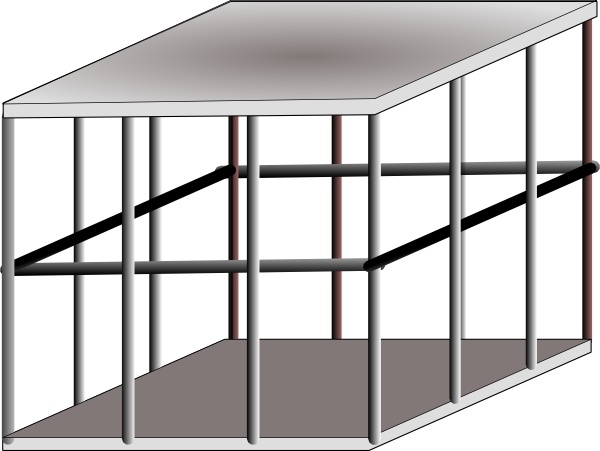 Cage clipart Cage clip Free office art