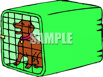 Cage clipart dog cage Clipart Cage  Dog