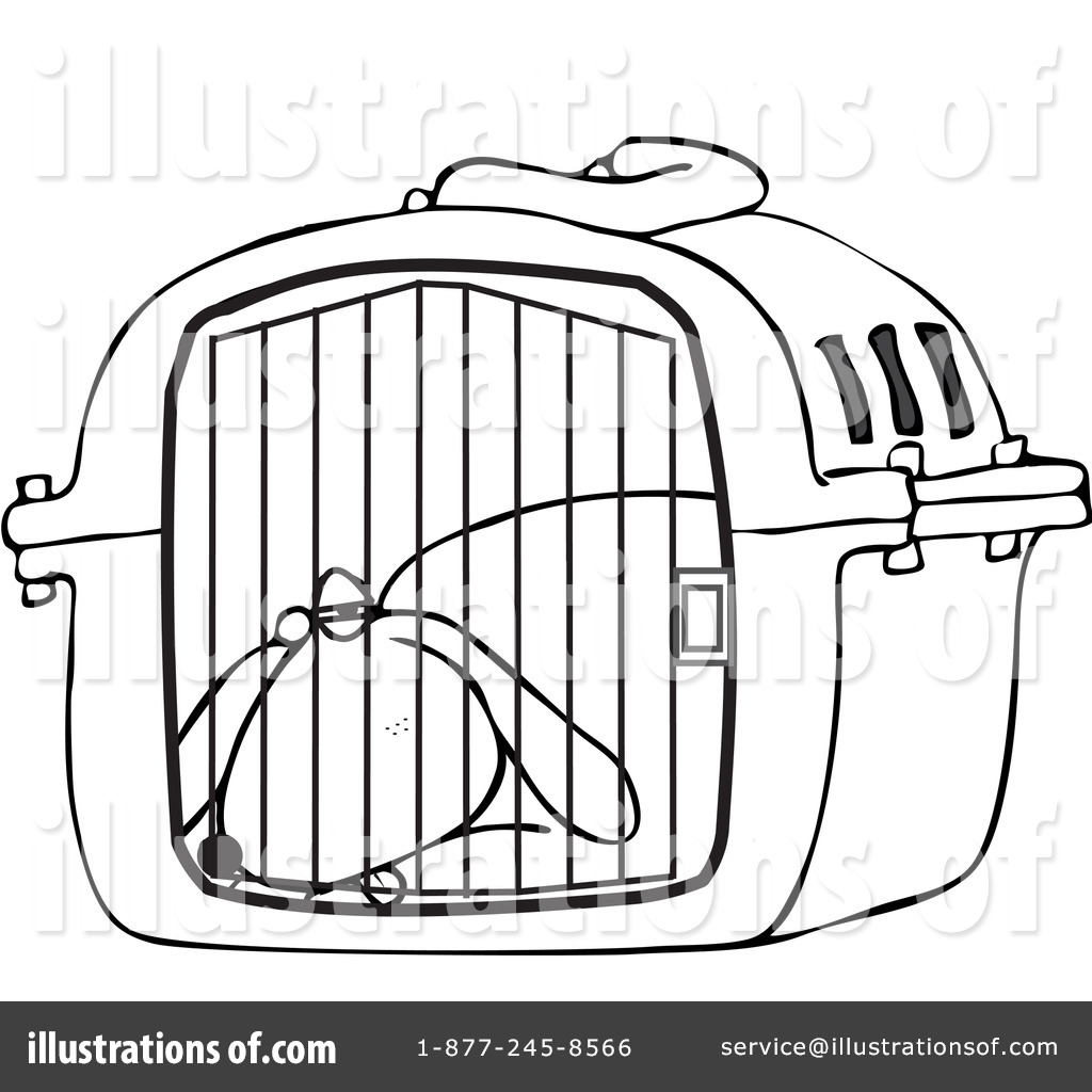 Cage clipart dog cage By Illustration #1100031 Clipart by