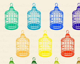 Cage clipart fence Decorative Fence Image Clip Birdcage