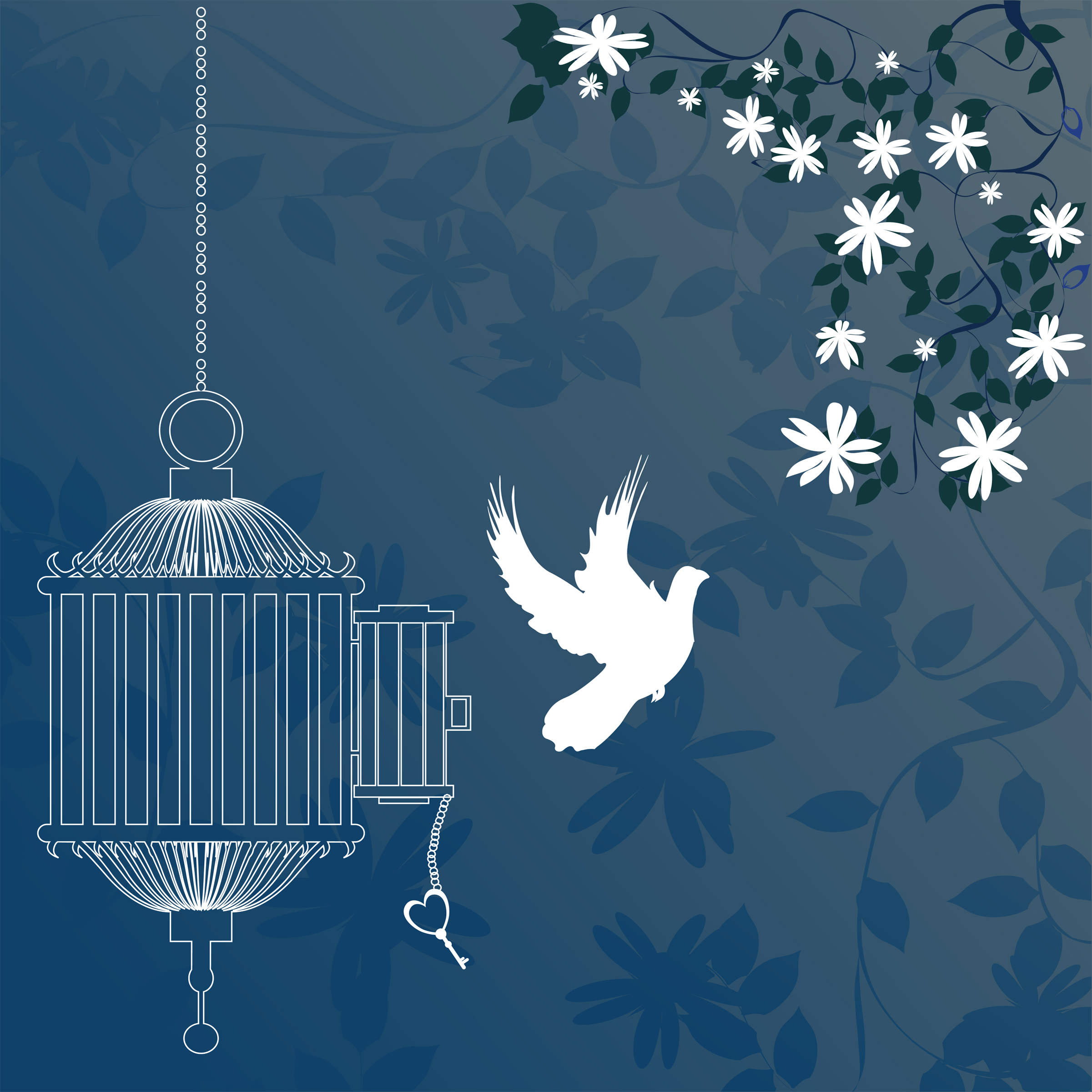 Cage clipart freedom bird Hands Illustrations With more Own