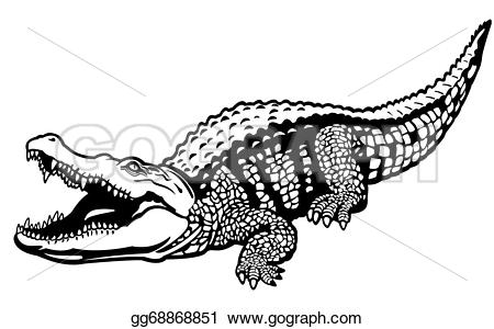 Caiman clipart wild animal Africa gg68868851 animal Art crocodile