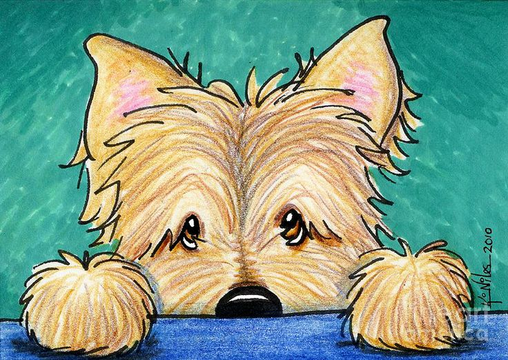 Cairn Terrier clipart Forget on Me cairn best