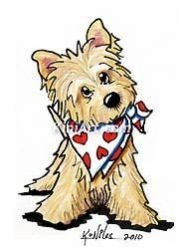 Cairn Terrier clipart Art: about terriers Valentine best