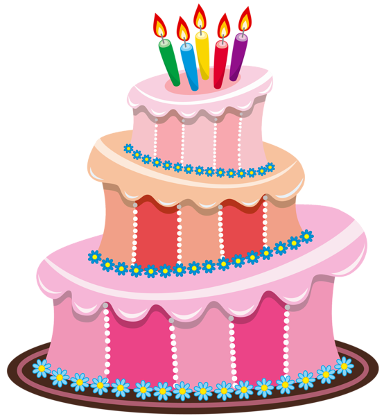 Cake clipart Birthday Birthday Cakes Cake Cute