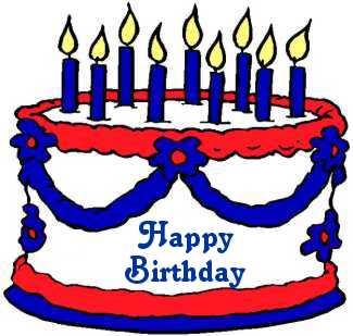 Birthday clipart 4th july Birthday  Clip Cliparts Free