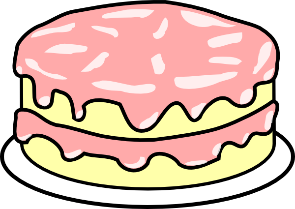 Icing clipart Free clipart art Pink Clipartix