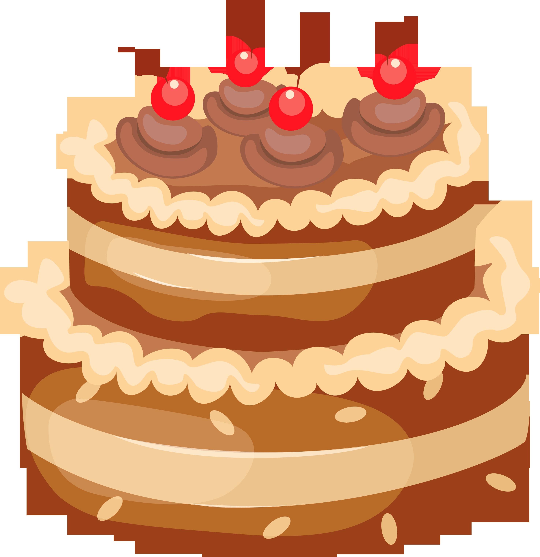Sponge Cake clipart cartoon Free Pictures Birthday clipart Clipartix