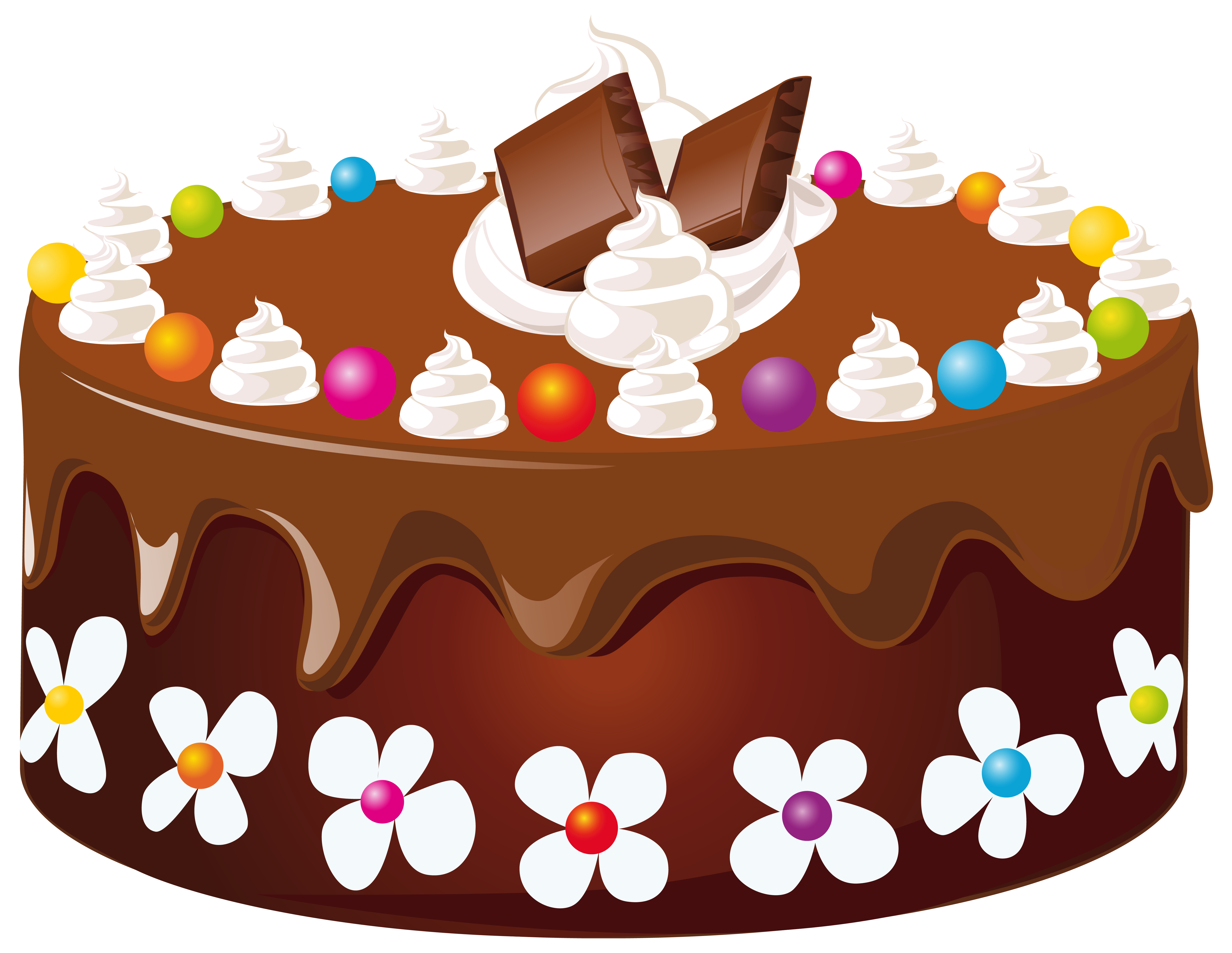 Chocolate Cake clipart Chocolate Clipartwork of Clipart Cake
