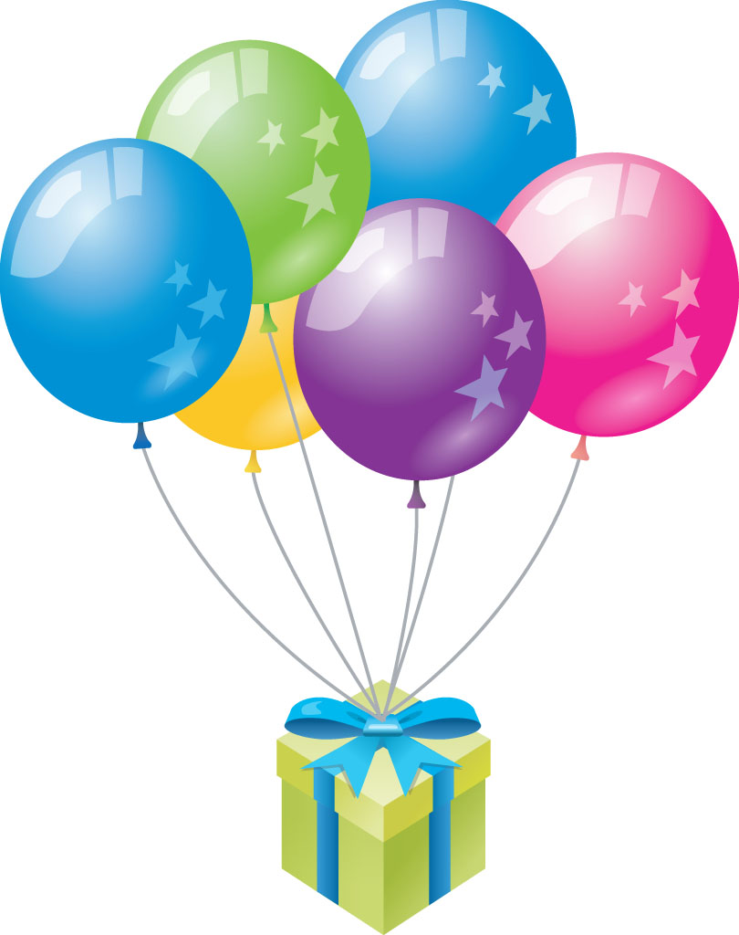Balloon clipart happy birthday Cake Birthday Download collection balloons