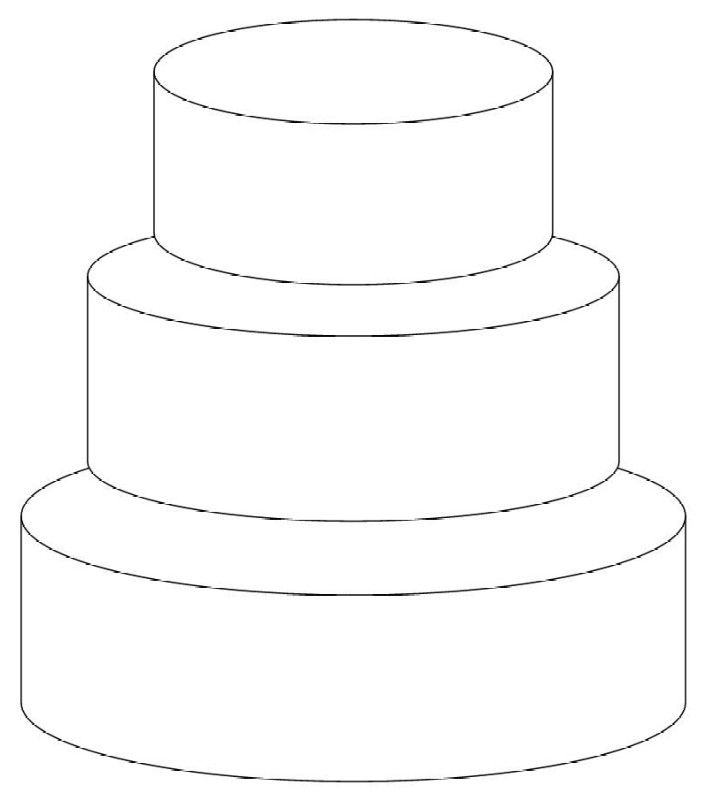 Drawn cake cherry Download Art Free Images Cake