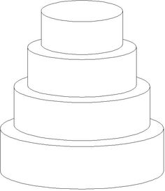 Wedding Cake clipart layer cake Tier 4 Clipart Clipart Cake