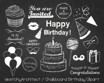 Balloon clipart chalkboard Library Clip (view all Cliparts