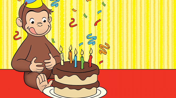 Cake clipart curious george  PBS PBS Curious Kids