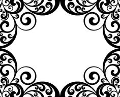 Damask clipart damask background Search clipart scroll ggpht free