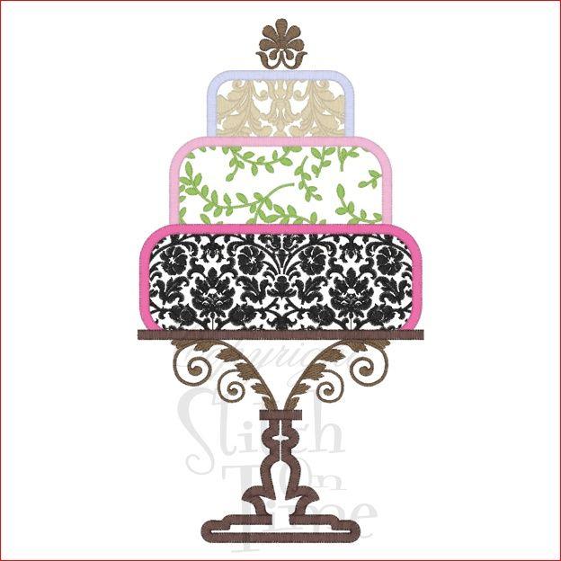 Cake clipart damask Design Elegant images Vintage 189