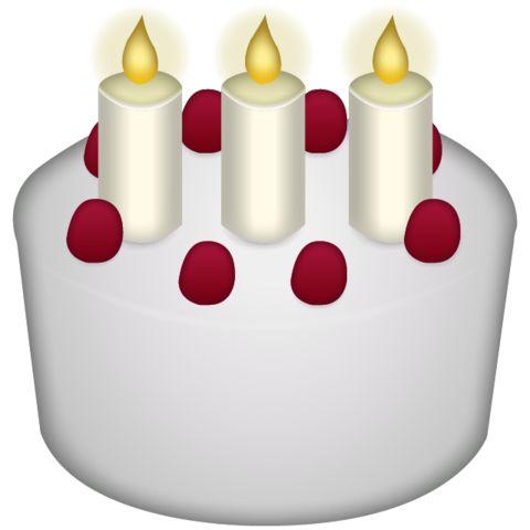 Cake clipart emoji Best Emoji Birthday Icon Download
