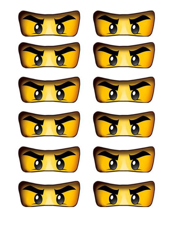 Cake clipart eye Birthday Lego Ninja cake on