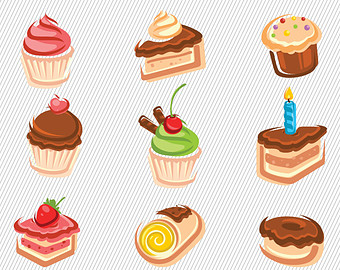 Cake clipart food Cake Cupcakes Sweet Food Sweet
