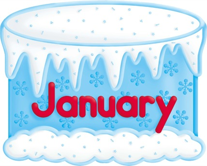 Cake clipart january #11