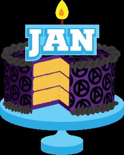 Cake clipart january #14