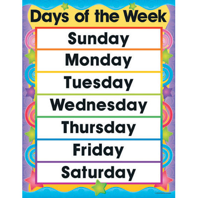Calendar clipart 1 week Week White the Collection Happy