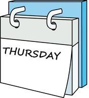 Calendar clipart 1 week Clipart Week Clipart Calendar Week