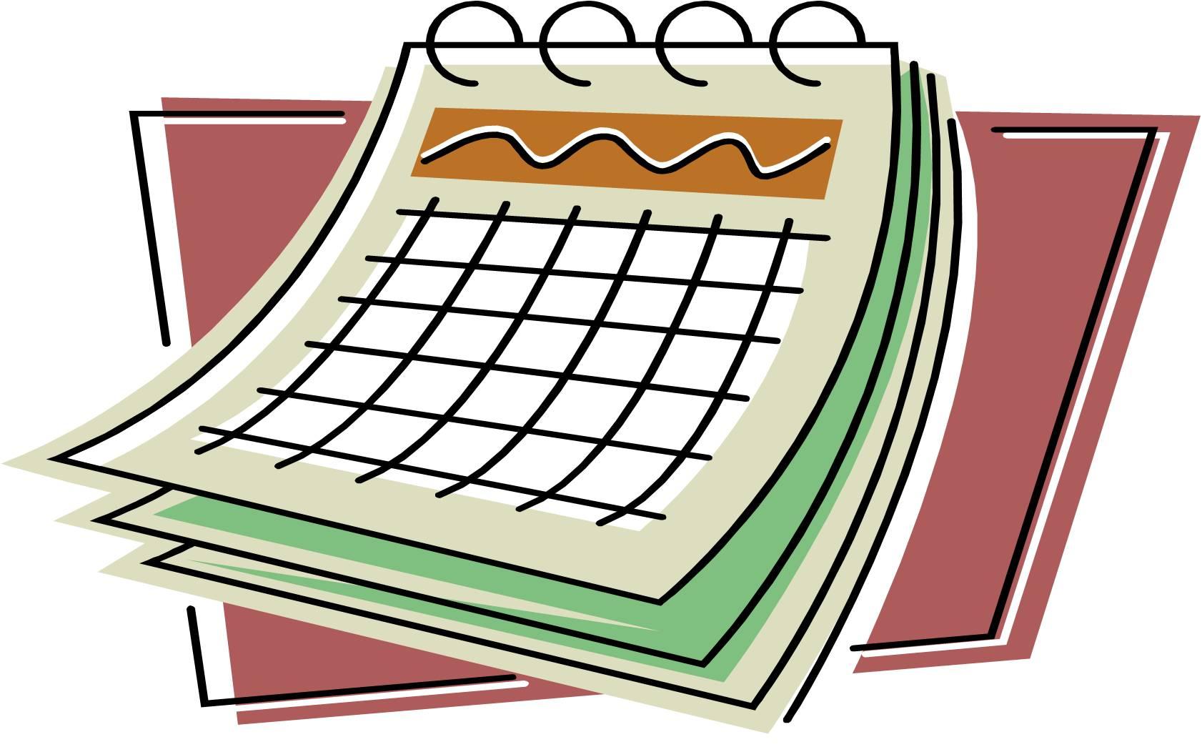 Date clipart year calendar #15