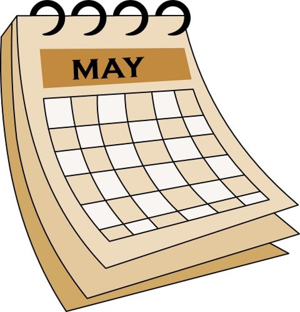 Calendar clipart  illustrations calendar art clipart