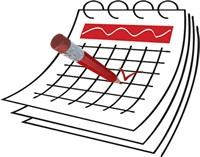 Calendar clipart Calendar Clipartix for you Free