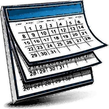 Calendar clipart Owl Calendar art clipart com
