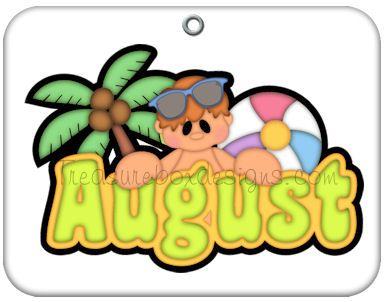 Calendar clipart aug Pinterest images 78 (August) Cute