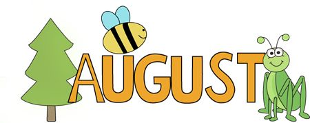 Calendar clipart aug More Clipped ideas Clip August