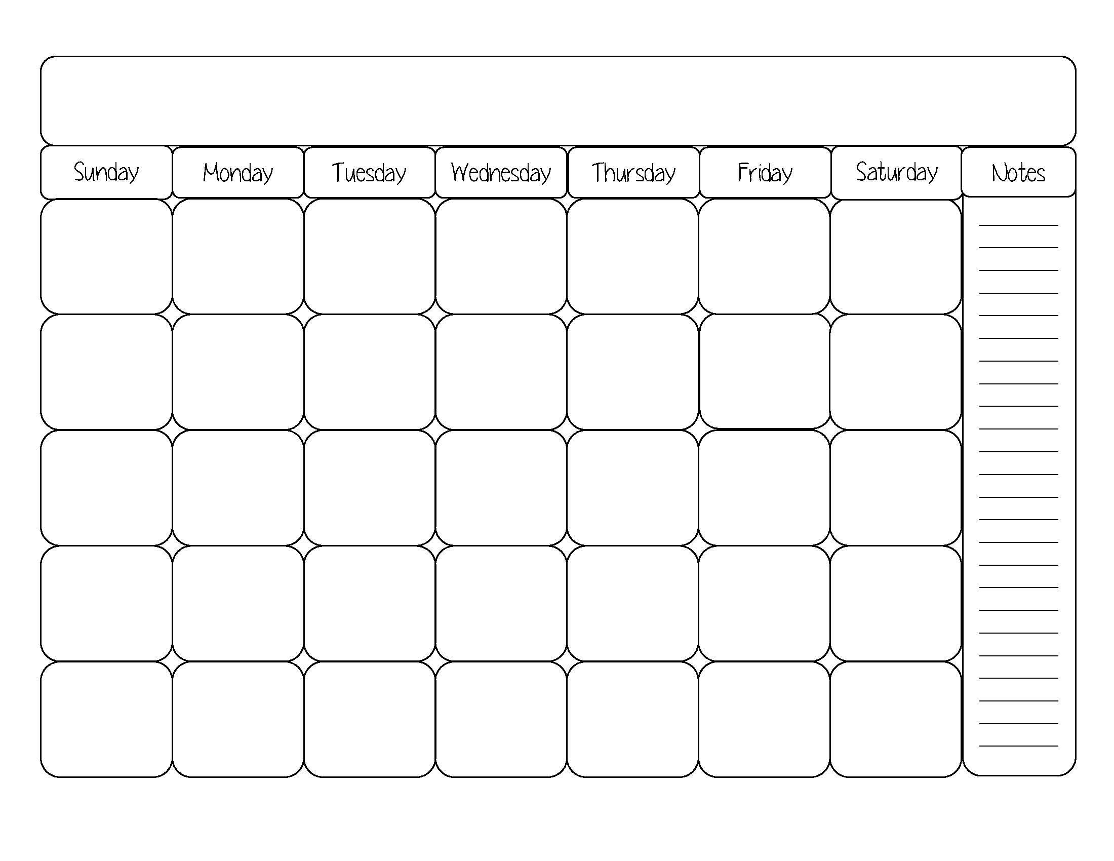 Saturday clipart calendar page #3