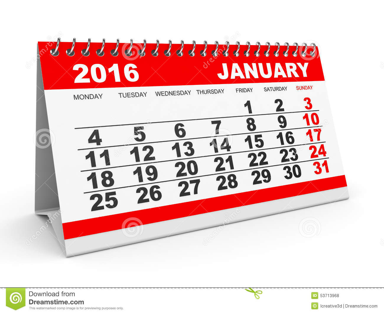 Calendar clipart january 2016 2017 january – January calendars